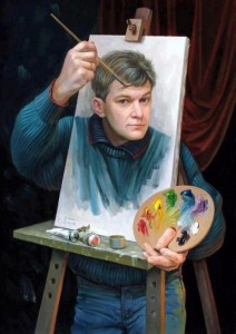 painter-painting-himself